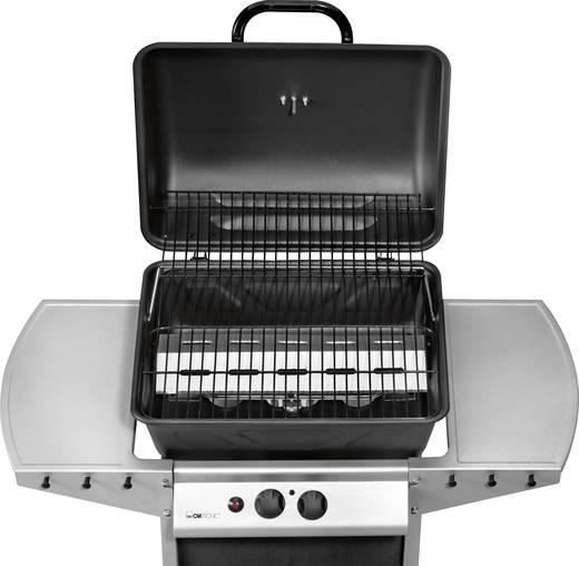 grillwagen gas grill clatronic gg3590 2 brenner edelstahl kaufen. Black Bedroom Furniture Sets. Home Design Ideas