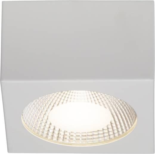 LED-Aufbauleuchte 10 W Warm-Weiß Brilliant G94254/05 Babett Weiß