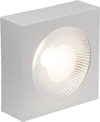 LED-Aufbauleuchte 20 W Warm-Weiß Brilliant G94255/05 Babett Weiß