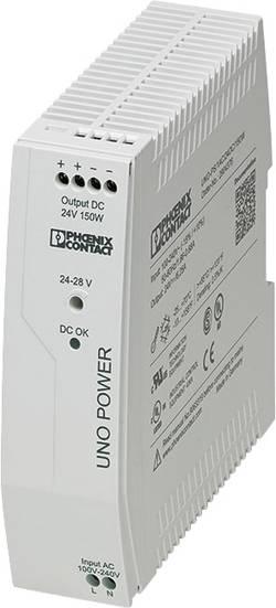 Síťový zdroj na DIN lištu Phoenix Contact UNO Power, 24 VDC / 150 W