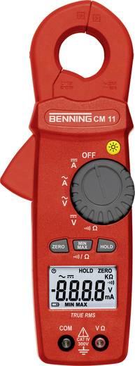Benning CM 11 Stromzange, Hand-Multimeter digital Kalibriert nach: DAkkS CAT IV 300 V Anzeige (Counts): 6000