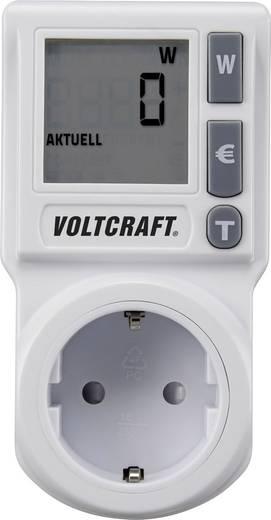 VOLTCRAFT EM 1000BASIC DE Energiekosten-Messgerät integrierte Kindersicherung, Stromtarif einstellbar, TRMS, Kostenprogn