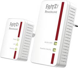 Kit de démarrage CPL WiFi AVM FRITZ!Powerline 540E WLAN 500 Mo/s