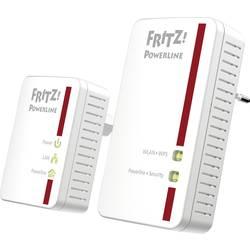 Powerline Wi-Fi Starter Kit AVM FRITZ!Powerline 540E WLAN Set International, 500 Mbit/s