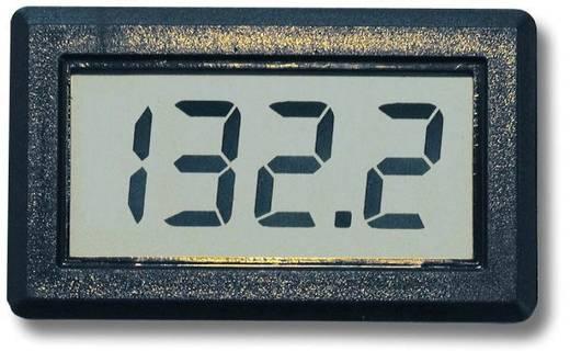 Beckmann & Egle EX2071 Digitales Einbaumessgerät, Messbereich 0 - 199,9 V/DC, Spannungs-Panelmeter, Einbaumaße 46 x 26.5 mm