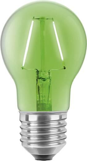 Segula LED E27 Glühlampenform 2 W Grün (Ø x L) 60 mm x 105 mm Filament 1 St.