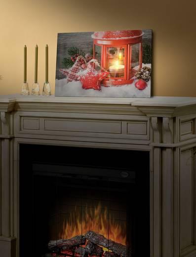 LED-Bild Laterne Warm-Weiß LED Polarlite LBA-55-003 Bunt