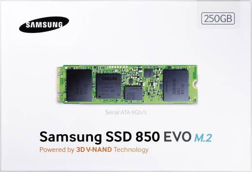 Interne SATA M.2 SSD 2280 250 GB Samsung 850 Evo Retail MZ-N5E250BW M.2
