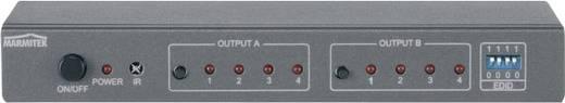 Marmitek Connect 540 4 Port HDMI-Matrix-Switch mit Fernbedienung, 3D-Wiedergabe möglich 3840 x 2160 Pixel