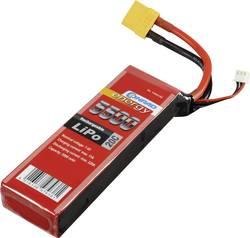 Batterie d'accumulateurs (LiPo) 7.4 V 5500 mAh Conrad energy 1344152 20 C stick XT90