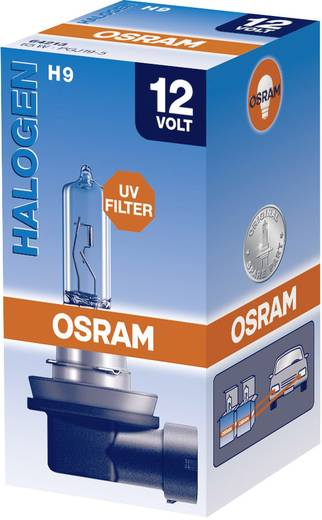 OSRAM Halogen Leuchtmittel Original Line H9 65 W