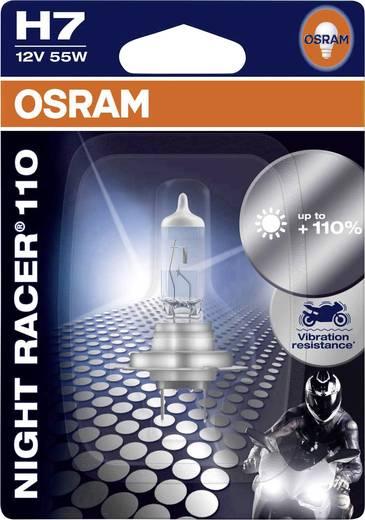 OSRAM Halogen Leuchtmittel NIGHT RACER 110 H7 55 W
