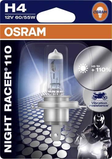 OSRAM Halogen Leuchtmittel NIGHT RACER 110 H4 60/55 W