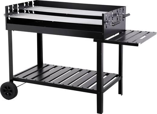 grillwagen holzkohle grill tepro garten atlanta schwarz kaufen. Black Bedroom Furniture Sets. Home Design Ideas
