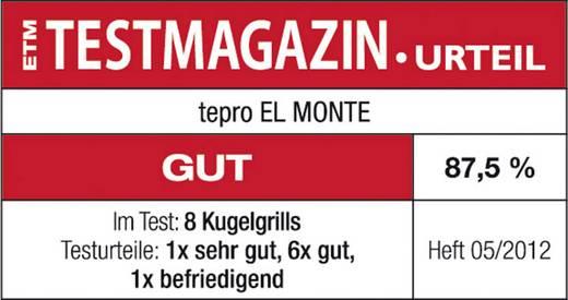 Kugel Holzkohle-Grill tepro Garten El Monte Grill-Fläche (Durchmesser)=535 mm Schwarz, Silber