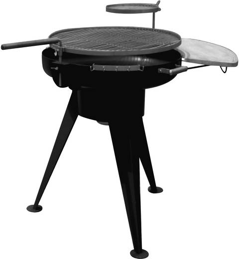 rund holzkohle grill tepro garten grill fl che durchmesser 760 mm schwarz edelstahl. Black Bedroom Furniture Sets. Home Design Ideas