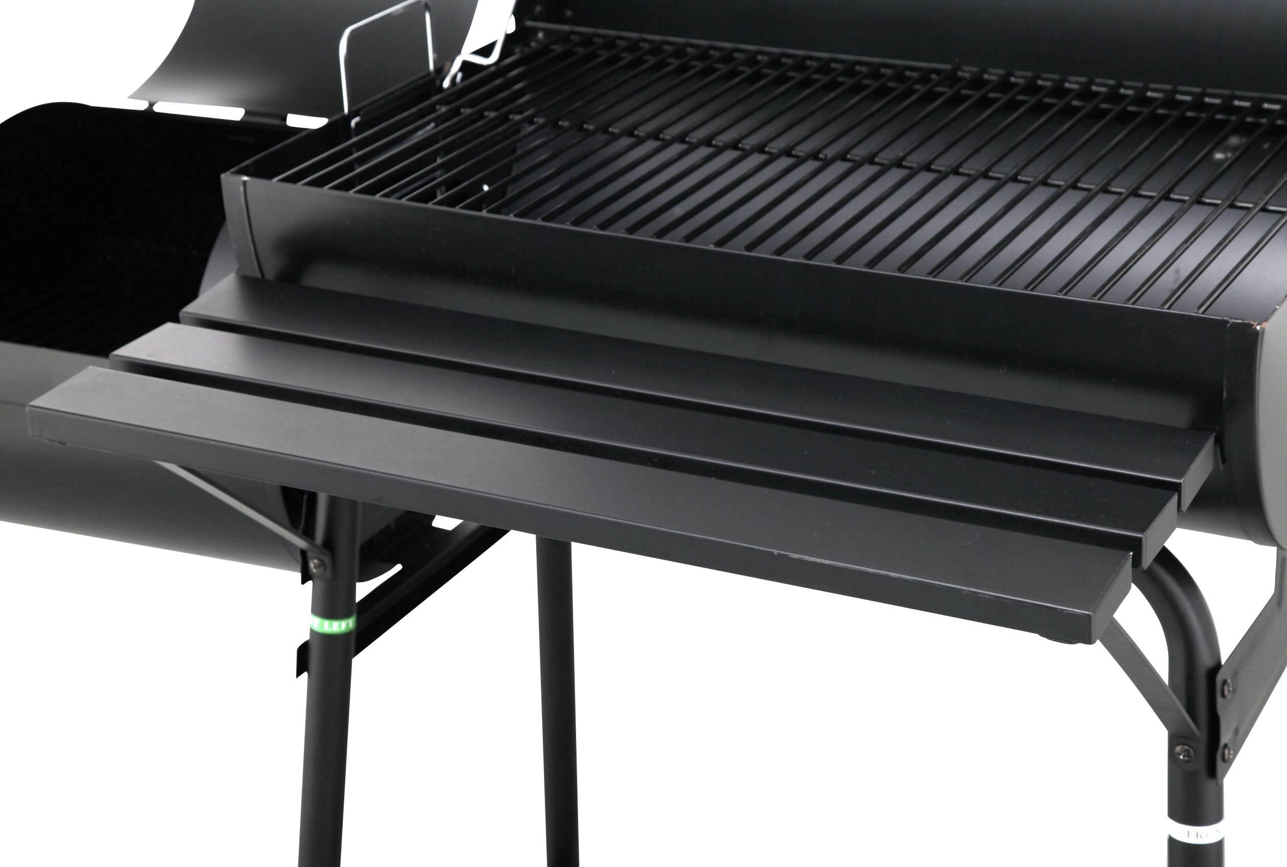 Tepro Toronto Holzkohlegrill Smoken : Smoker bbq grill grillwagen barbecue holzkohlegrill cm rost xxl