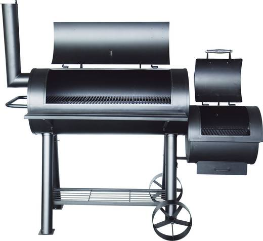 grillwagen smoker tepro garten milwaukee thermometer im deckel schwarz kaufen. Black Bedroom Furniture Sets. Home Design Ideas