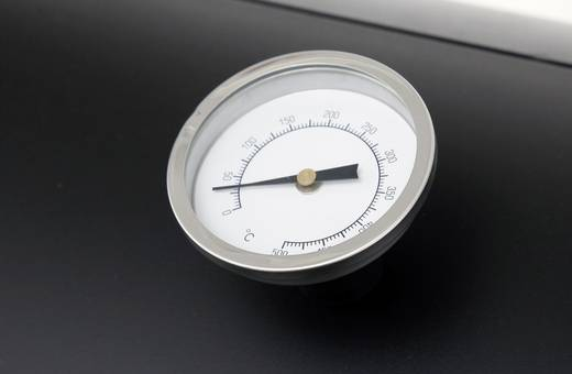 Grillwagen Smoker tepro Garten Milwaukee Thermometer im Deckel Schwarz