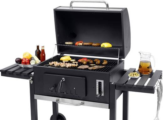 grillwagen holzkohle grill tepro garten barbecue roulettes toronto xxl thermometer im deckel. Black Bedroom Furniture Sets. Home Design Ideas
