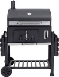 grillwagen holzkohle grill tepro garten toronto thermometer im deckel schwarz edelstahl kaufen. Black Bedroom Furniture Sets. Home Design Ideas