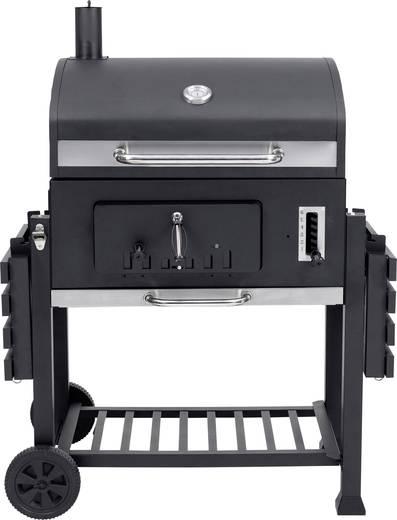 tepro garten toronto xxl grillwagen holzkohle grill thermometer im deckel schwarz edelstahl. Black Bedroom Furniture Sets. Home Design Ideas