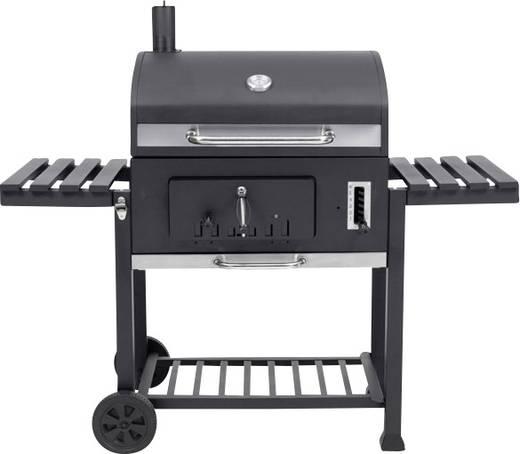 tepro garten toronto xxl grillwagen holzkohle grill thermometer im deckel schwarz edelstahl kaufen. Black Bedroom Furniture Sets. Home Design Ideas
