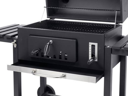 Tepro Holzkohlegrill Media Markt : Grill toronto xxl. toronto xxl charcoal bbq grill with side tables