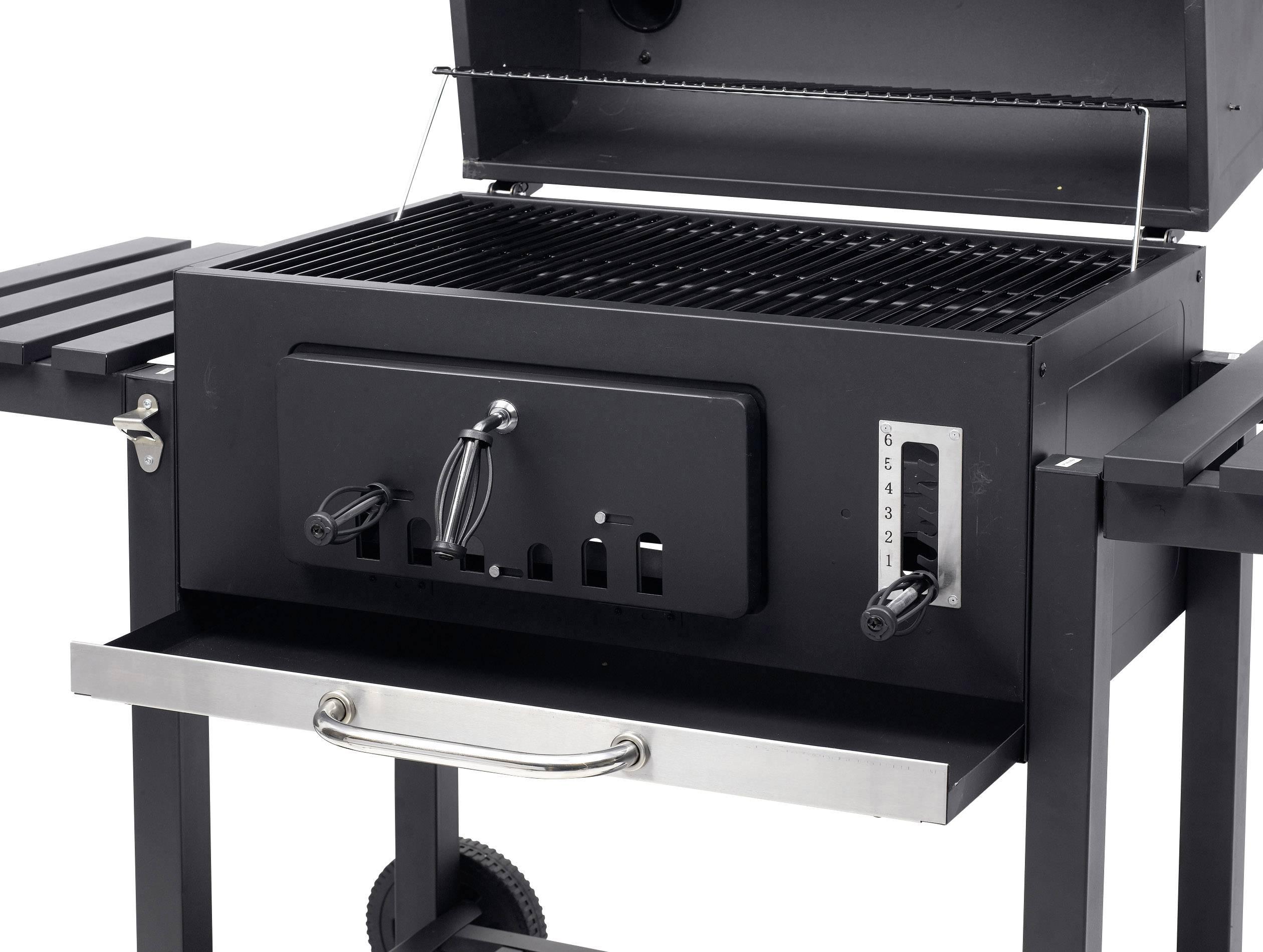 Tepro Toronto Holzkohlegrill Kaufen : Tepro garten toronto xxl grillwagen holzkohle grill thermometer im