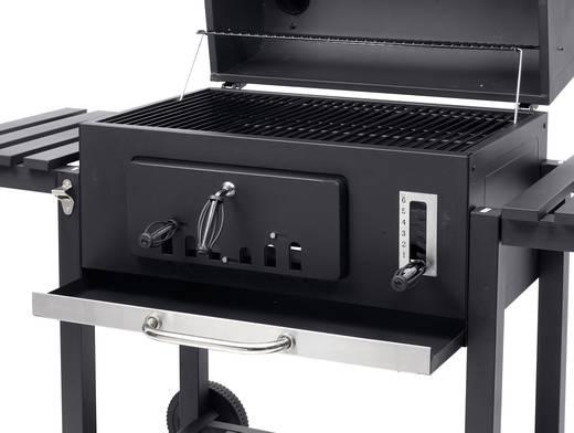 Tepro Toronto Holzkohlegrill Abdeckhaube : Tepro garten toronto xxl grillwagen holzkohle grill thermometer im