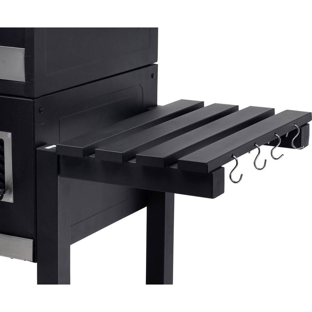 grillwagen holzkohle grill tepro garten toronto xxl thermometer im deckel schwarz edelstahl im. Black Bedroom Furniture Sets. Home Design Ideas