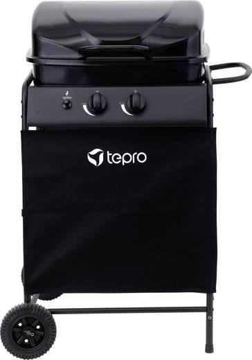 grillwagen gas grill tepro garten delton 2 brenner schwarz kaufen. Black Bedroom Furniture Sets. Home Design Ideas