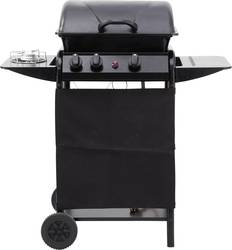 grillwagen gas grill tepro garten delton 2 brenner schwarz. Black Bedroom Furniture Sets. Home Design Ideas