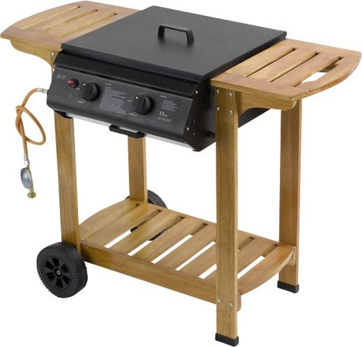 grillwagen gas grill tepro garten pittsburgh 2 brenner schwarz braun kaufen. Black Bedroom Furniture Sets. Home Design Ideas
