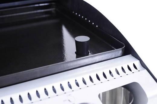 tepro Garten Rockville Plancha Tisch Gas-Grill 3 Brenner Schwarz, Silber