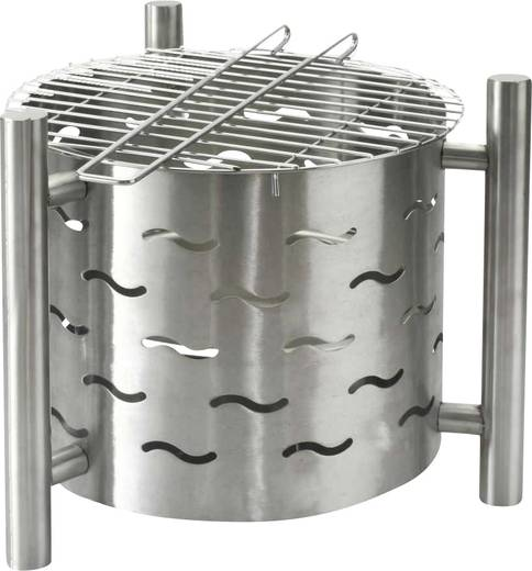stand feuerstelle tepro garten barbecue grillfunktion grill fl che durchmesser 405 mm. Black Bedroom Furniture Sets. Home Design Ideas