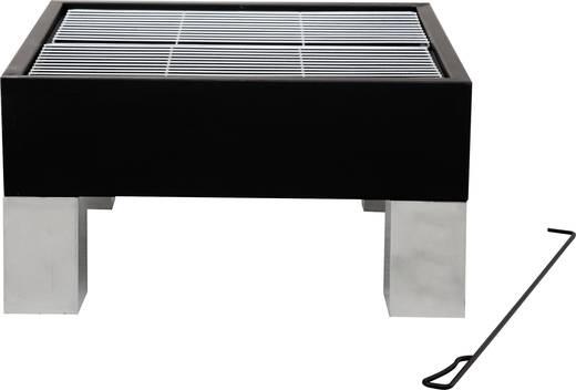 stand feuerstelle tepro garten laredo grillfunktion mit funkenschutz schwarz. Black Bedroom Furniture Sets. Home Design Ideas