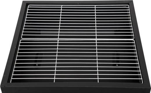 stand feuerstelle tepro garten laredo grillfunktion mit funkenschutz schwarz kaufen. Black Bedroom Furniture Sets. Home Design Ideas
