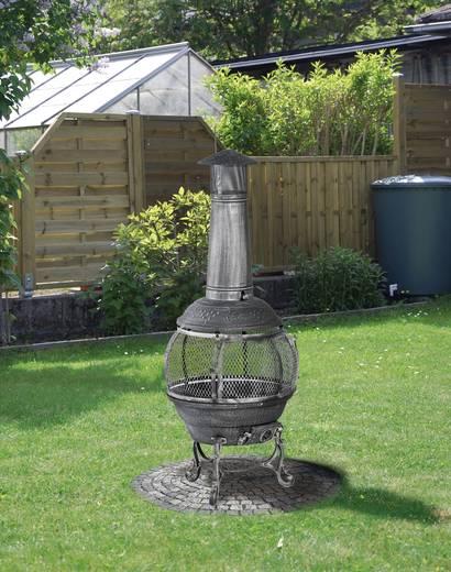 Rund feuerstelle tepro garten jacksonville schwarz grau for Feuerstelle garten mit bonsai schale rund