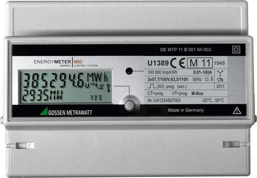 Gossen Metrawatt U1389-V015 Drehstromzähler mit Wandleranschluss digital 5 A MID-konform: Ja