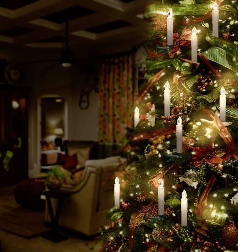 funk weihnachtsbaum beleuchtung innen batteriebetrieben 10 led warm wei polarlite lba 30 015 kaufen. Black Bedroom Furniture Sets. Home Design Ideas