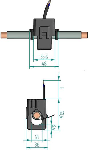 Gossen Metrawatt SC30 250/1A 0,2VA Kl.1 18 mm Stromwandler Primärstrom:250 A Sekundärstrom:1 A