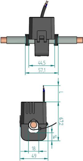 Gossen Metrawatt SC40-B 200/1A 0,2VA Kl.0,5 18 mm Stromwandler Primärstrom:200 A Sekundärstrom:1 A