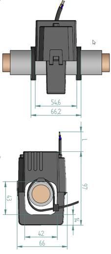 Gossen Metrawatt SC50-E 300/5A 0,5VA Kl.1 42 mm Stromwandler Primärstrom:300 A Sekundärstrom:5 A