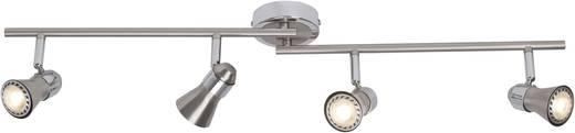 Deckenstrahler LED GU10 EEK: A (A++ - E) 20 W Brilliant Sanny G15432/77 Chrom