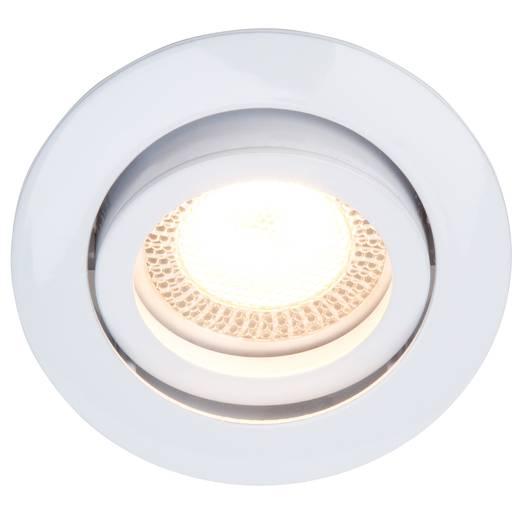 Einbauleuchte 3er Set LED GU10 15 W Brilliant G94650/05 Easy Clip Weiß