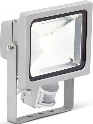 Brilliant Riad G96214/11 LED-Außenstrahler mit Bewegungsmelder 20 W Kalt-Weiß