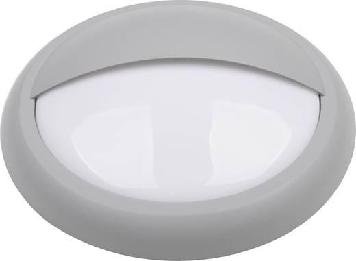 TLT International Rosa LT34017 LED-Außenwandleuchte 10 W Warm-Weiß Grau