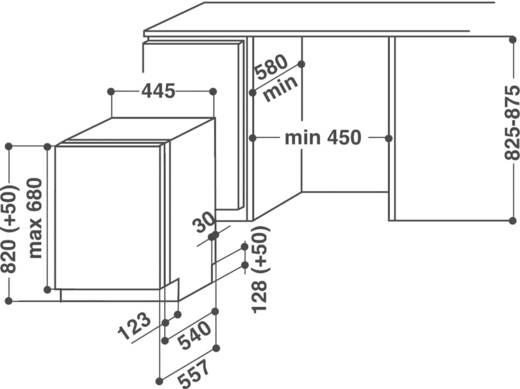 Vollintegrierbarer geschirrspuler adgi792fd 45 cm for Vollintegrierbarer geschirrspüler 45 cm