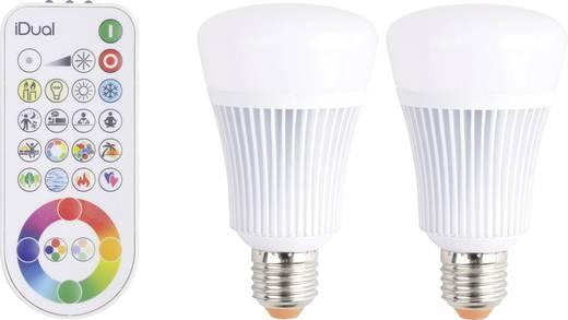 jedi lighting led e27 gl hlampenform 11 w 60 w rgbw x l 68 mm x 119 mm eek a. Black Bedroom Furniture Sets. Home Design Ideas